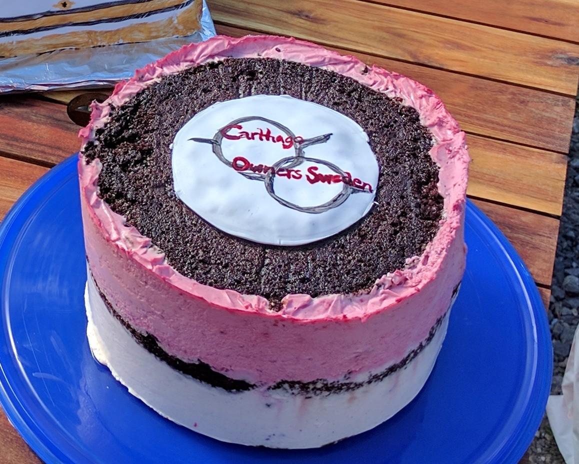 HS COS-tårta