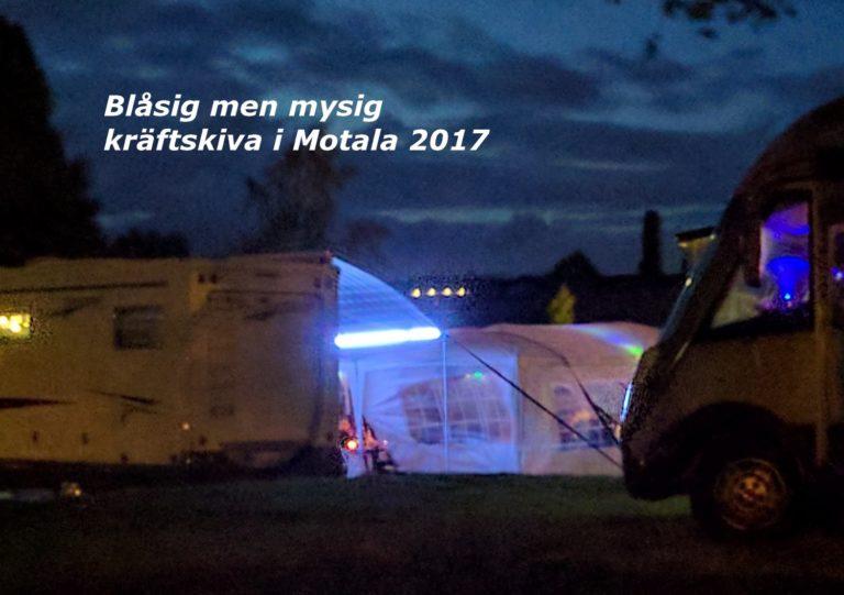 Kräftskiva i Motala 2017